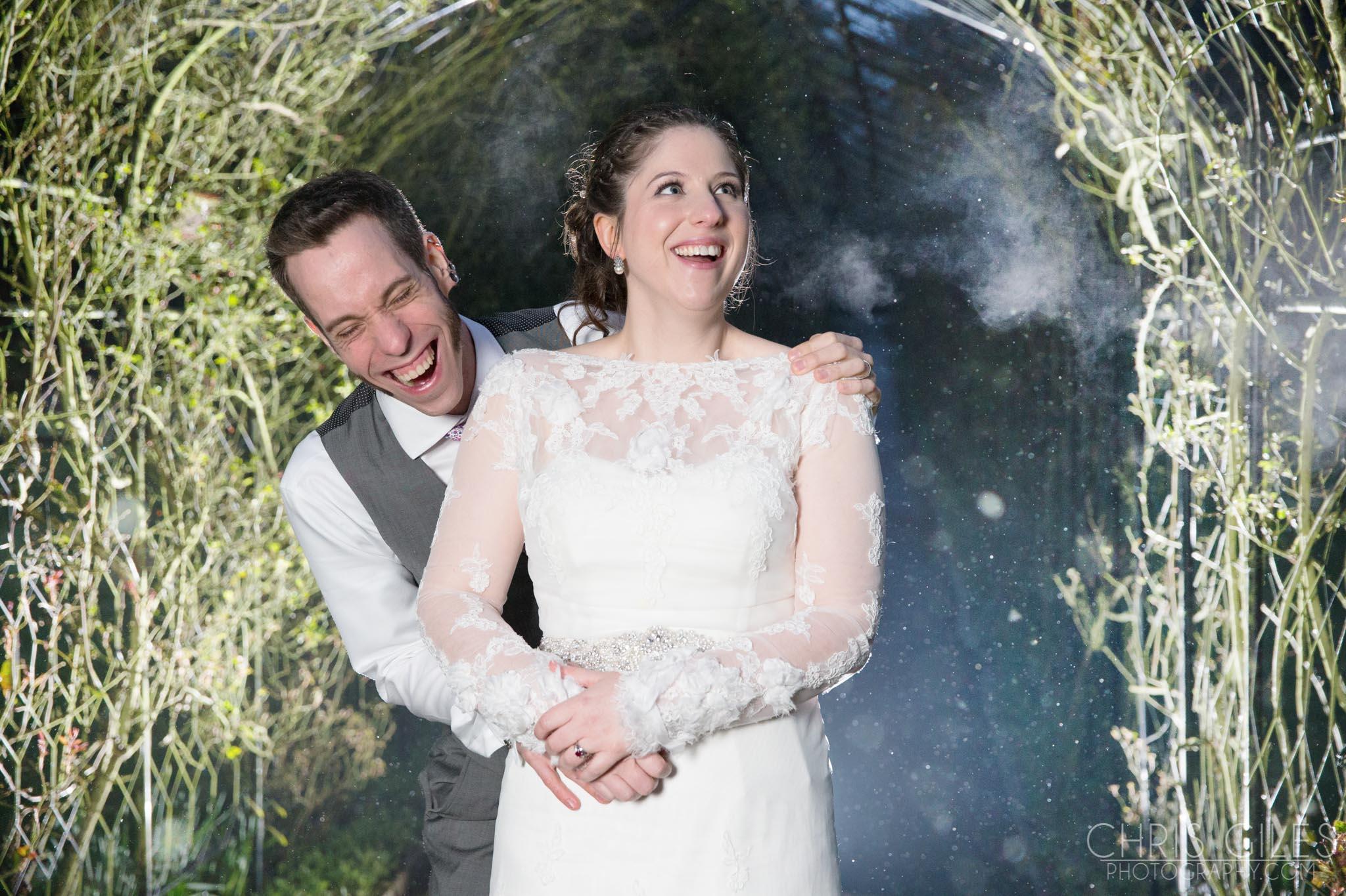 Nonsuch Mansion Winter Wedding