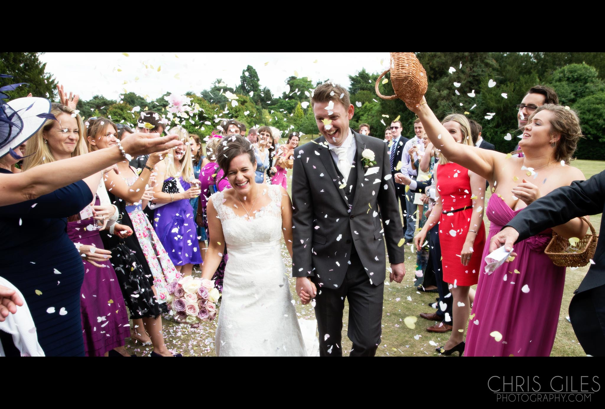Nonsuch and Holy Ghost Balham Wedding