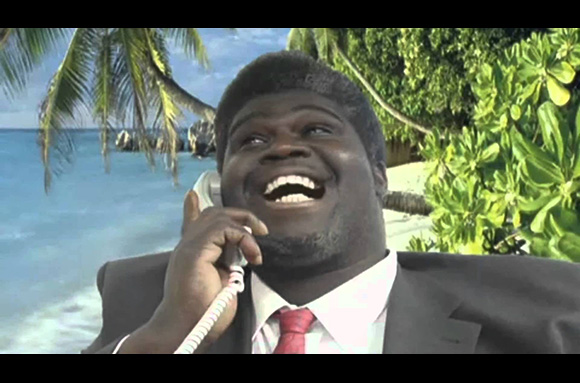 'We're calling you direct from Facebook. There is a pigeon in your bank account' 'We're calling you direct from Facebook. There is a pigeon in your bank account'