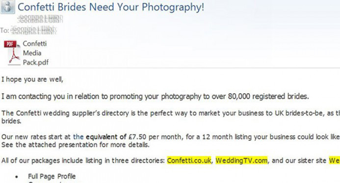 Being lied to in order to get my email address for marketing made me feel conned.