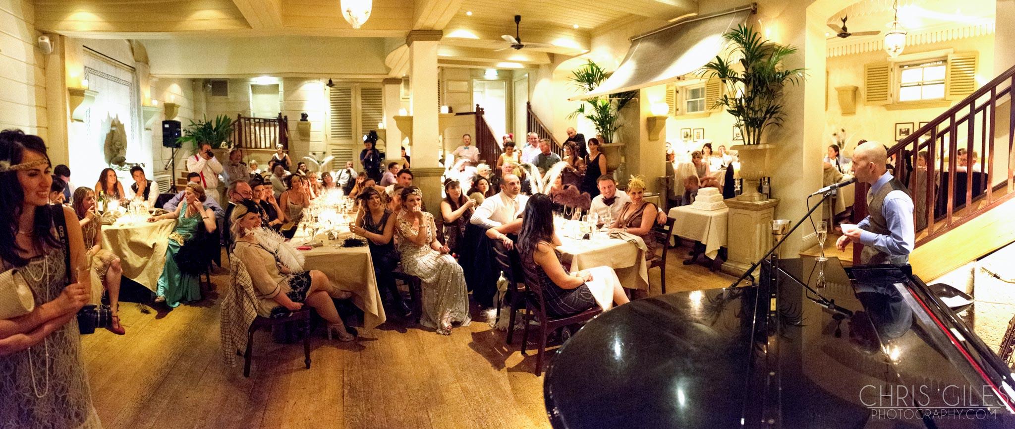Brighton Restaurant Wedding Photography