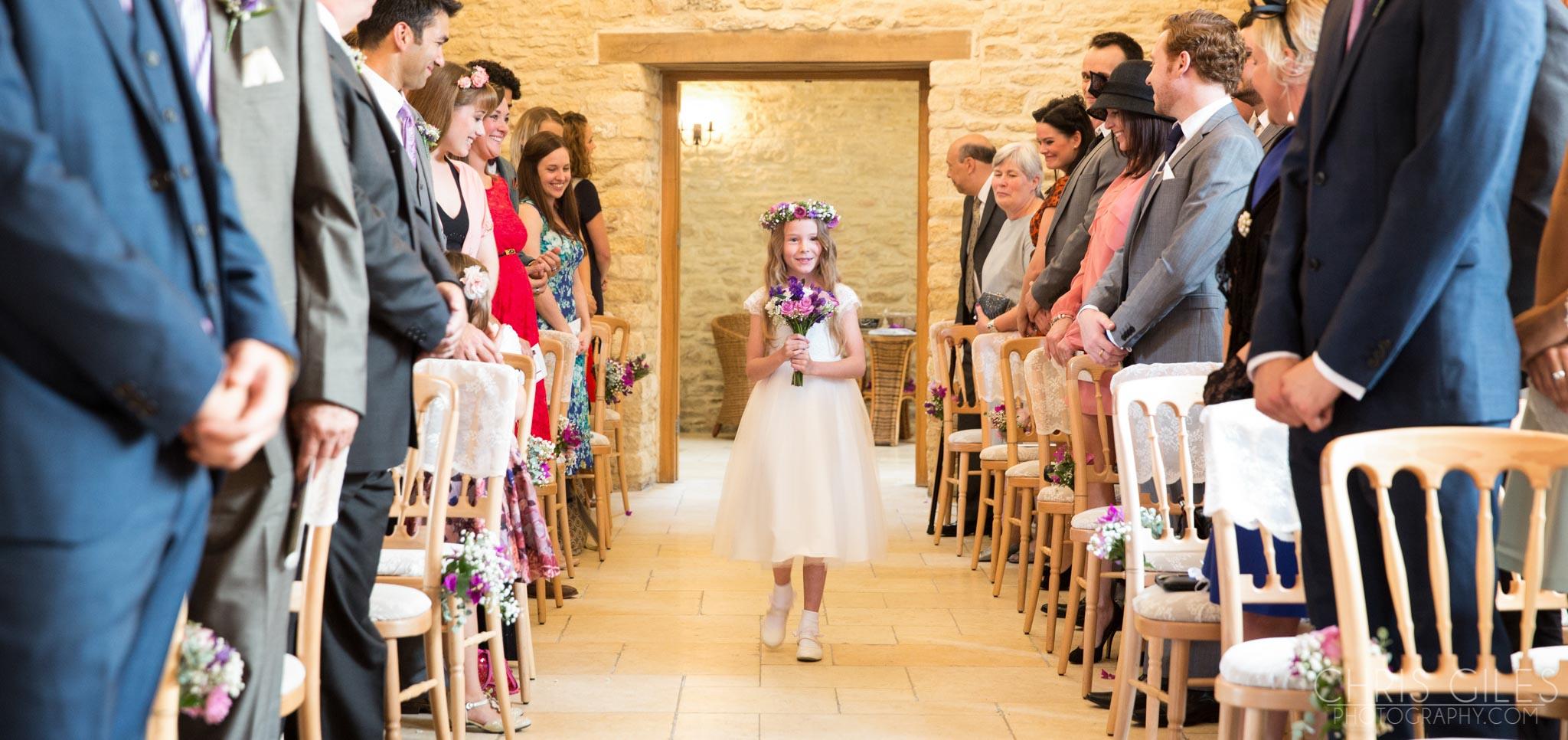 Kingscote Barn Wedding