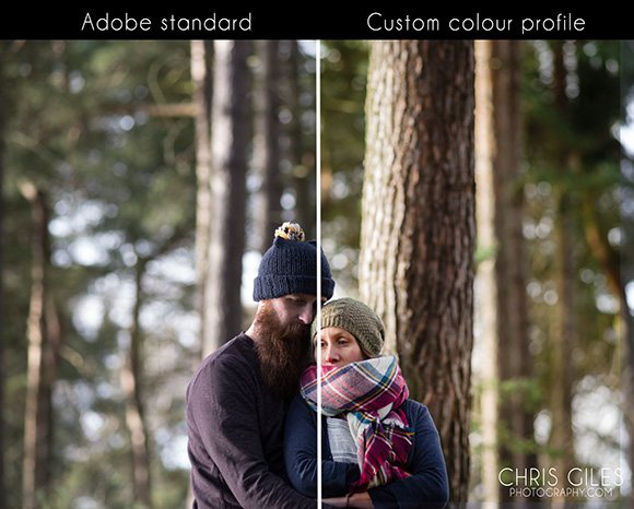Depending on your monitor you might not see much but Adobe standard isn't the 645z's best friend.