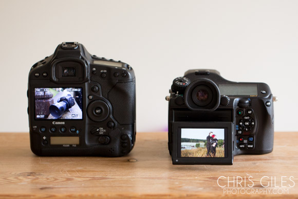 The Pentax 645z Ergonomics - Chris Giles Photography