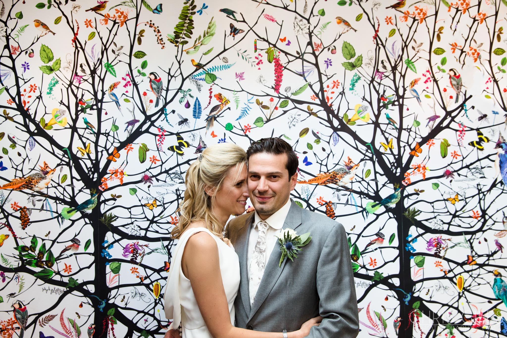 Chelsea Resistry Office Wedding