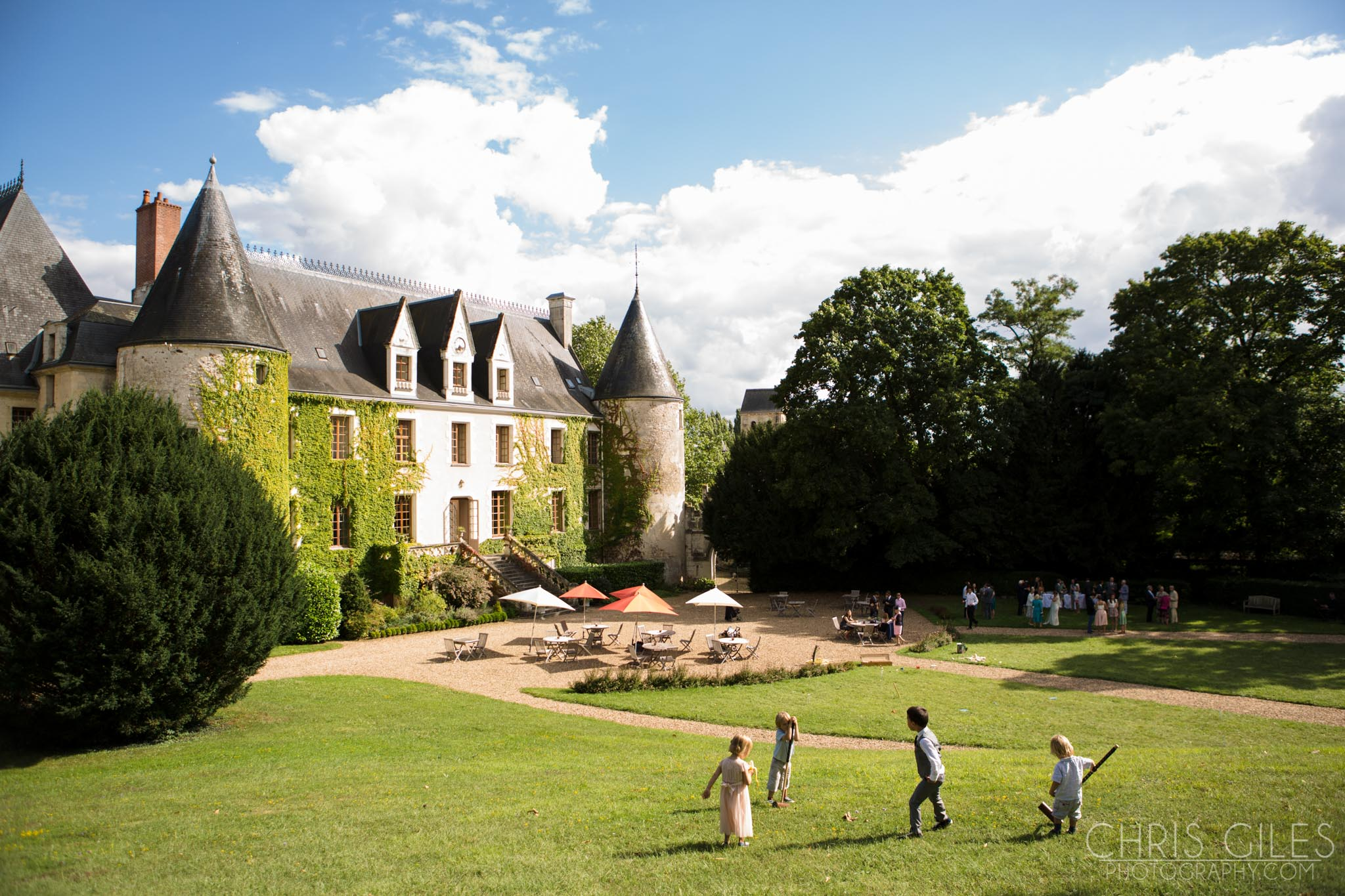 Chateau de Reignac Wedding