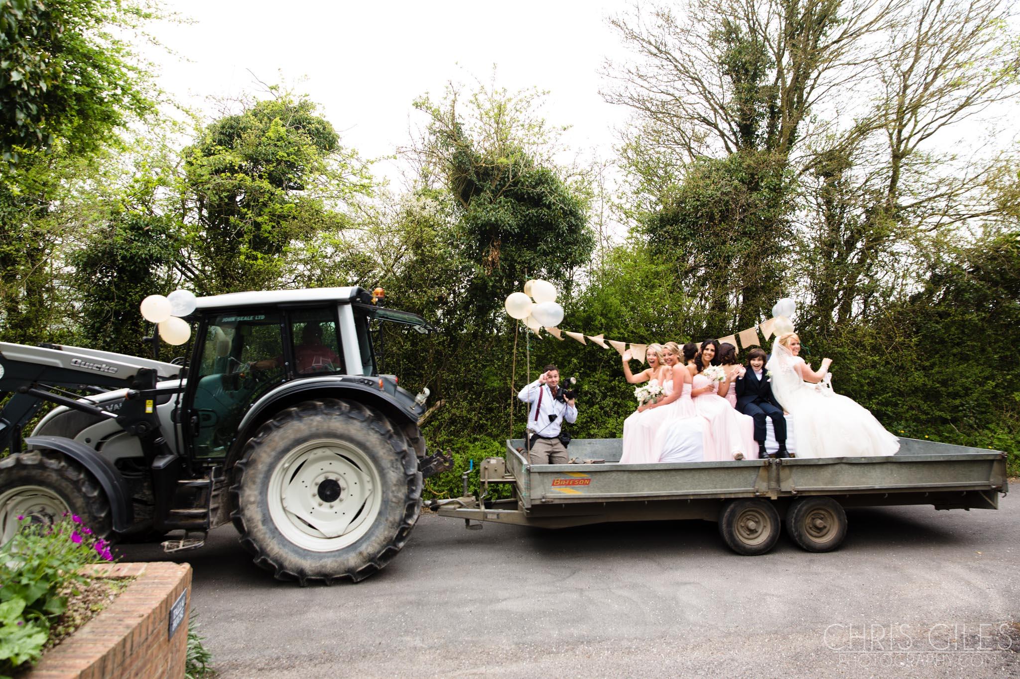 charlotte and nicks wedding at pangdean barn chris