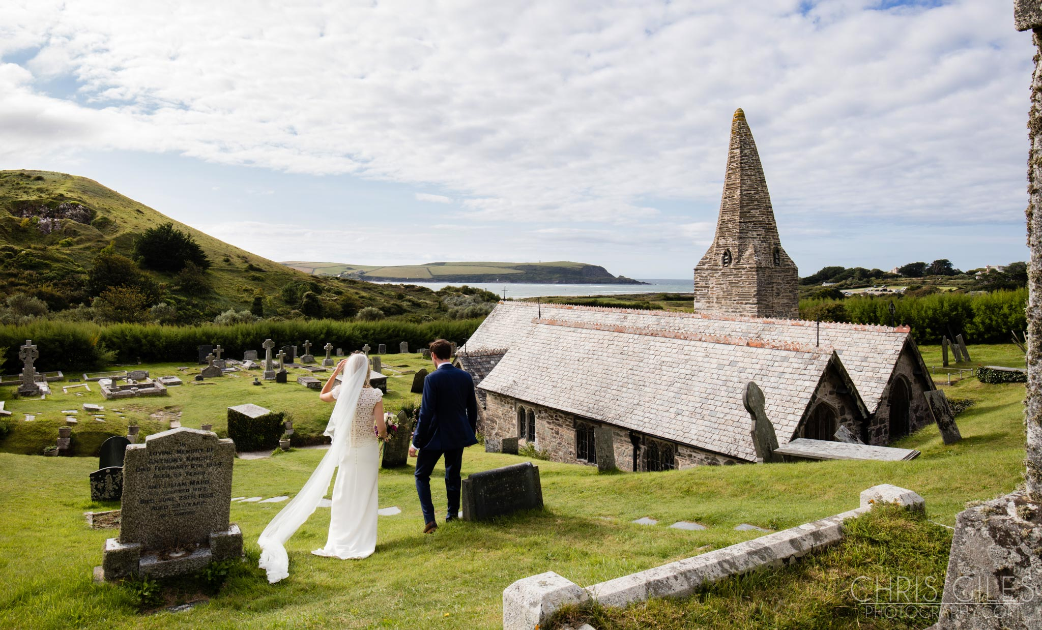 St Enodoc Church Wedding