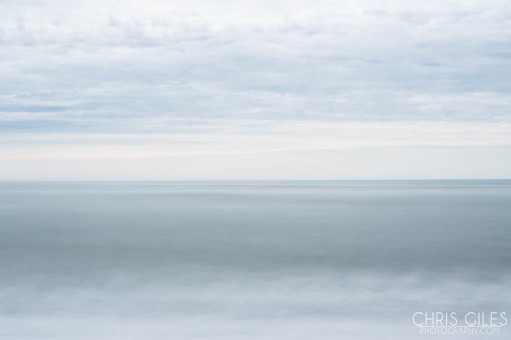 Calm on an otherwise brutal sea