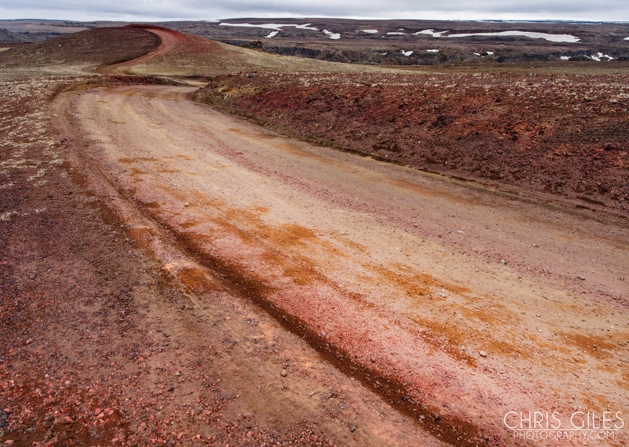 Red soil of Iceland