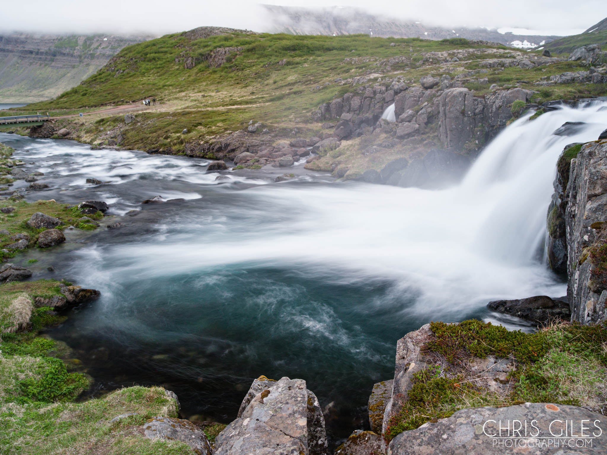 FJallfoss in North West Iceland