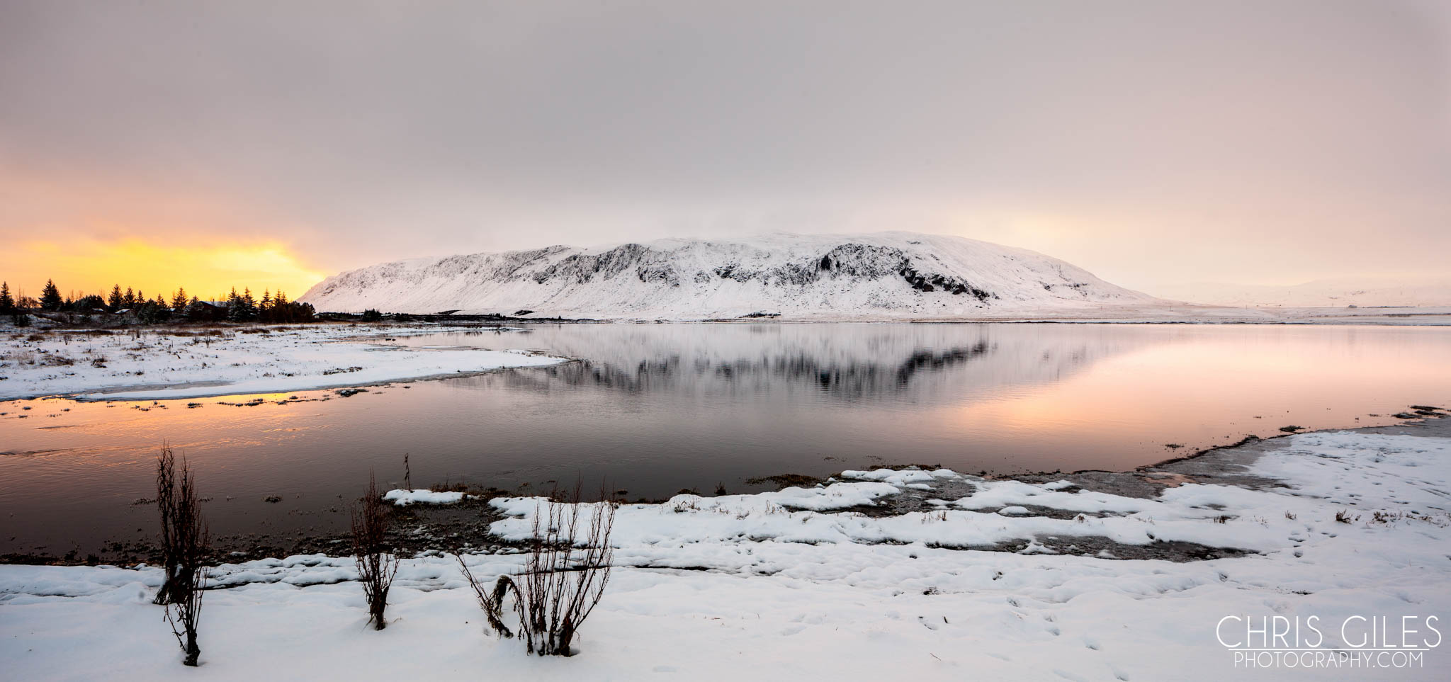 Iceland snow covered mountain - Canon 1Ds3