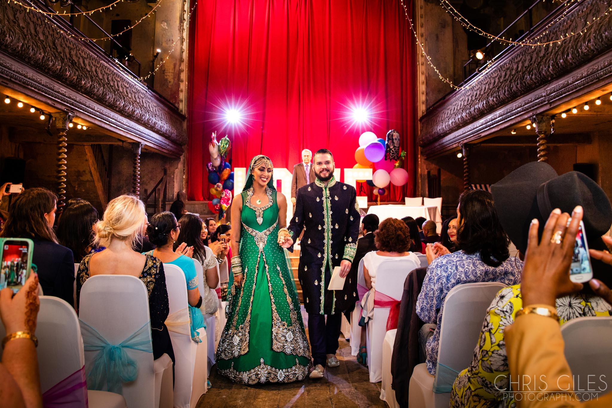 Wiltons Music Hall Wedding