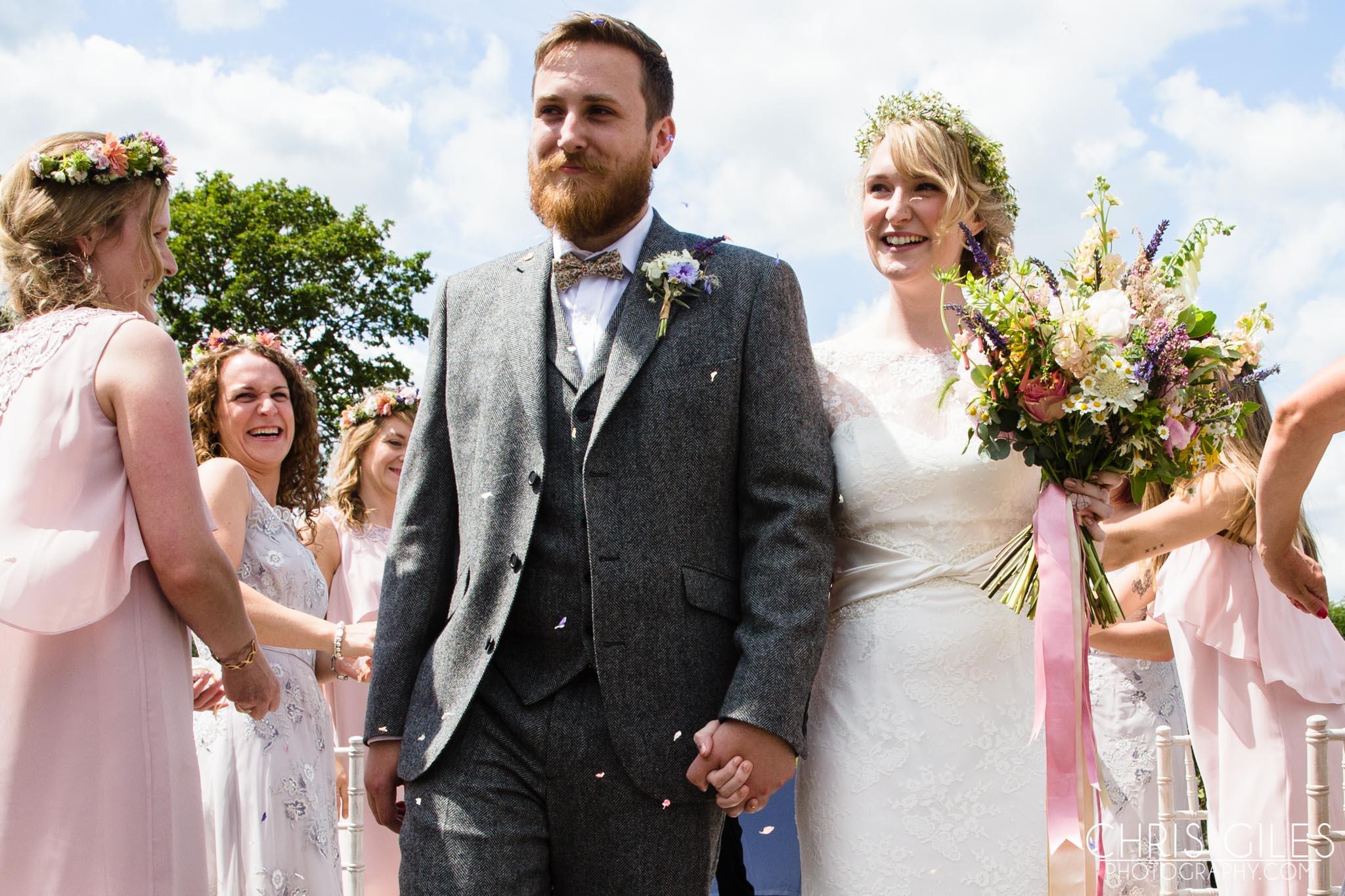House Meadow Wedding
