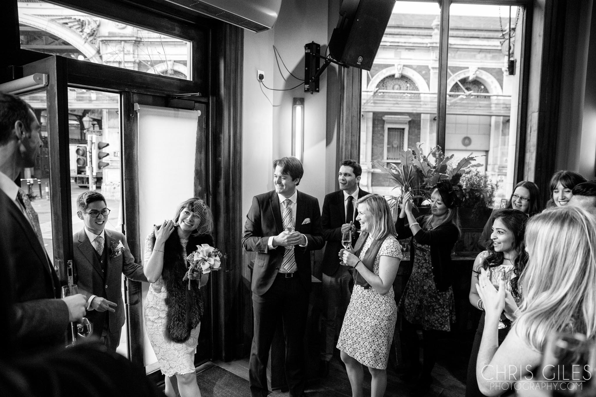 Islington Town Hall St Bart Brewery Wedding