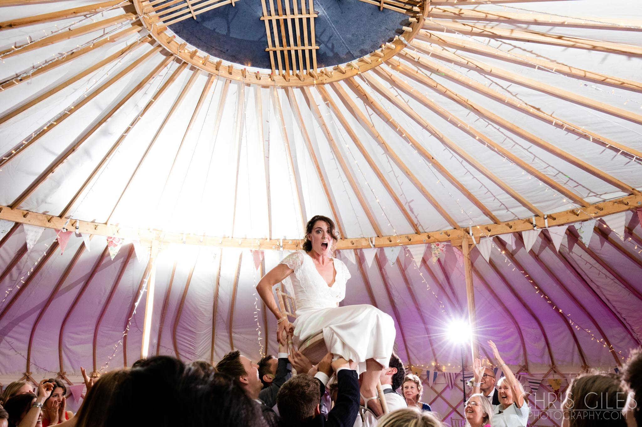 Yurt and Tipi Wedding