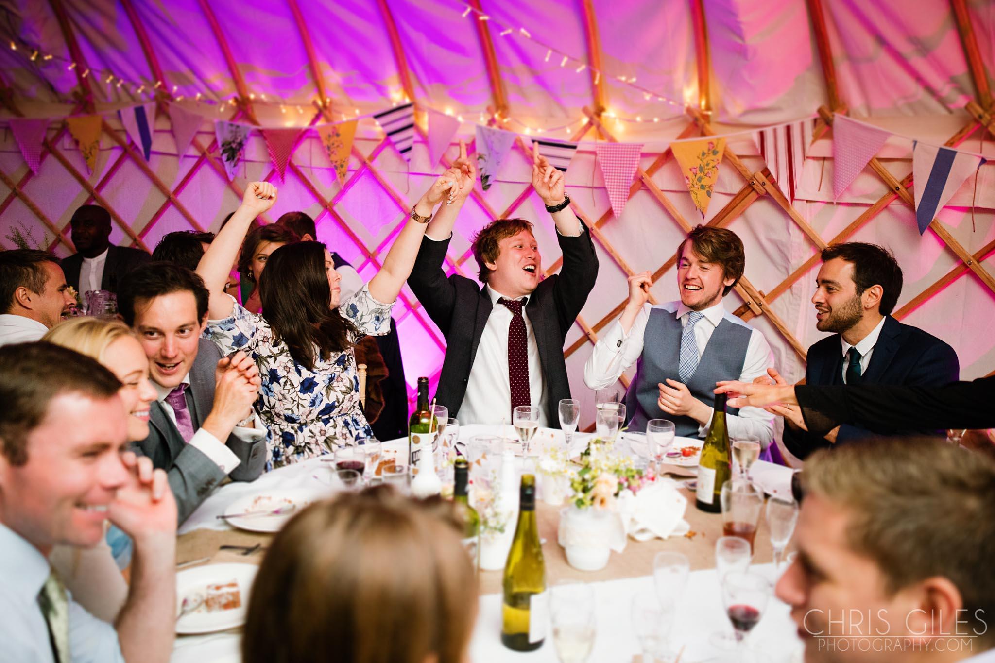 Yurt and Tipi Wedding