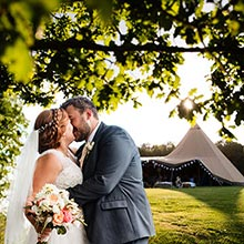 Summer Tipi Wedding in Henley