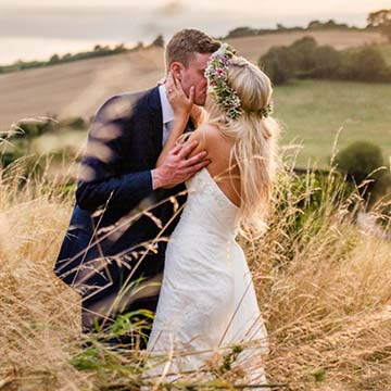 Upwaltham Barns Summer Wedding