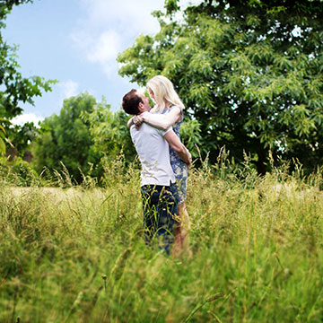 Nonsuch Park couples shoot