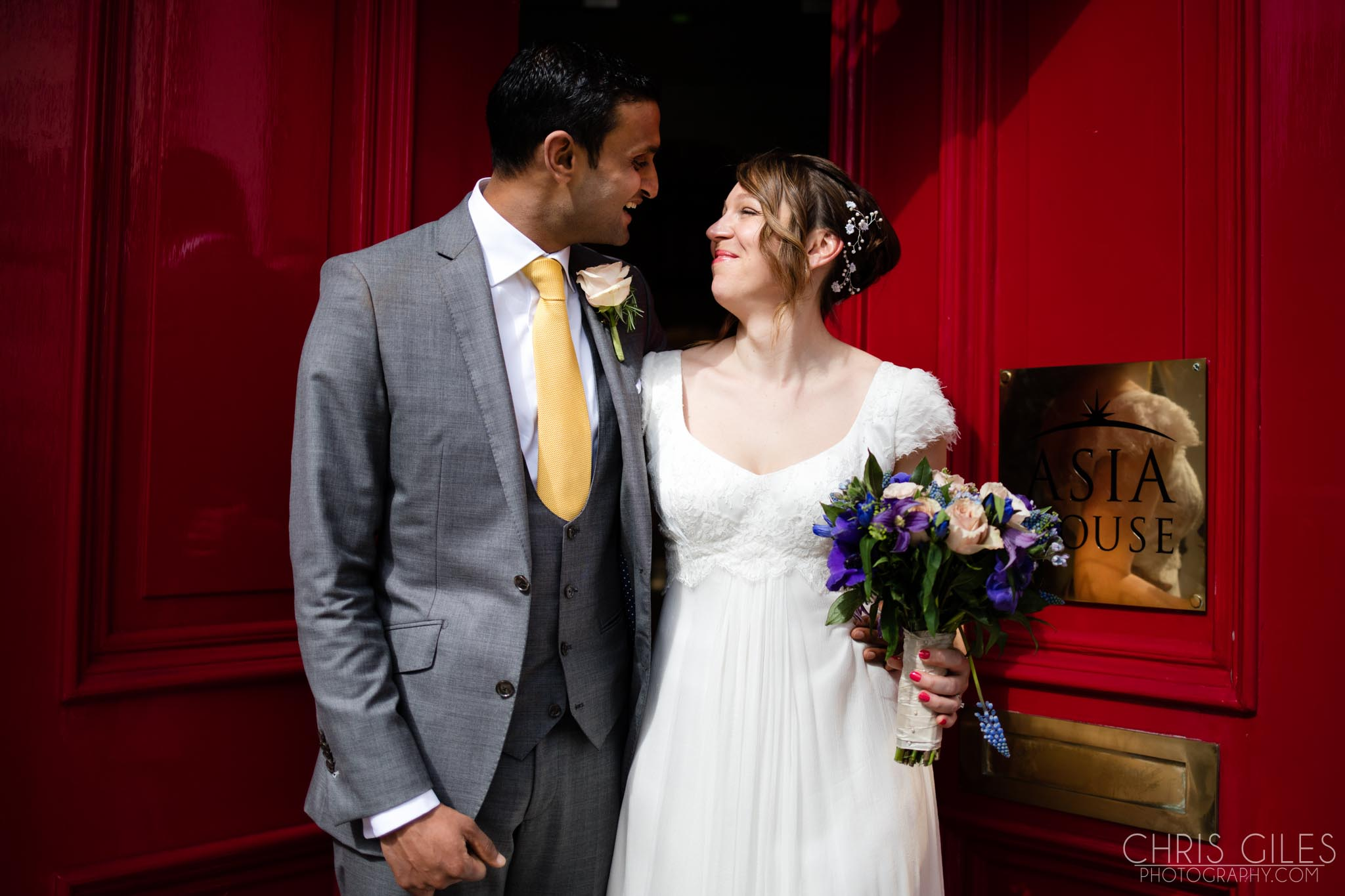 Clare & Sanj at Asia House and The Amadeus