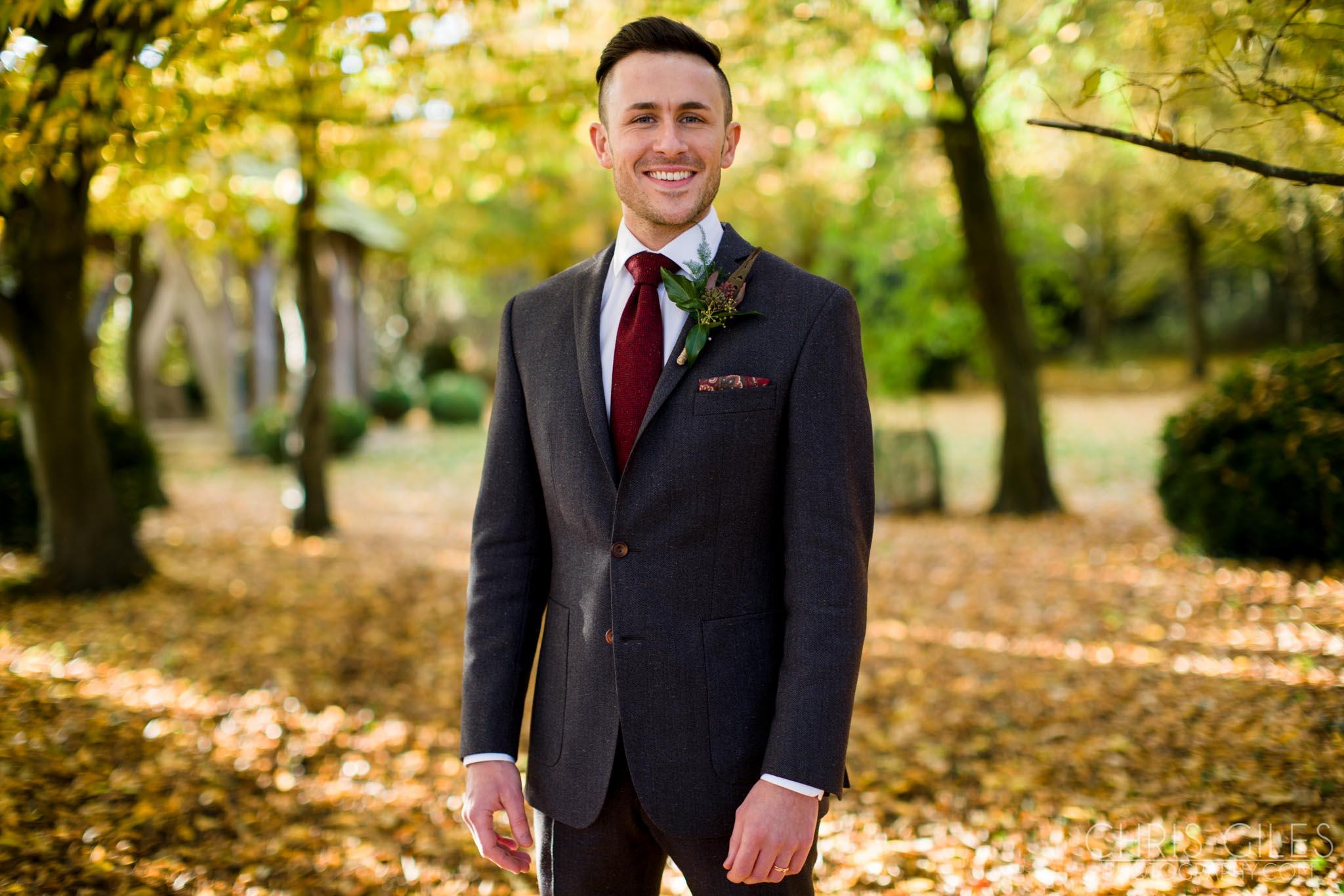 Cripps Barn Autumn Wedding