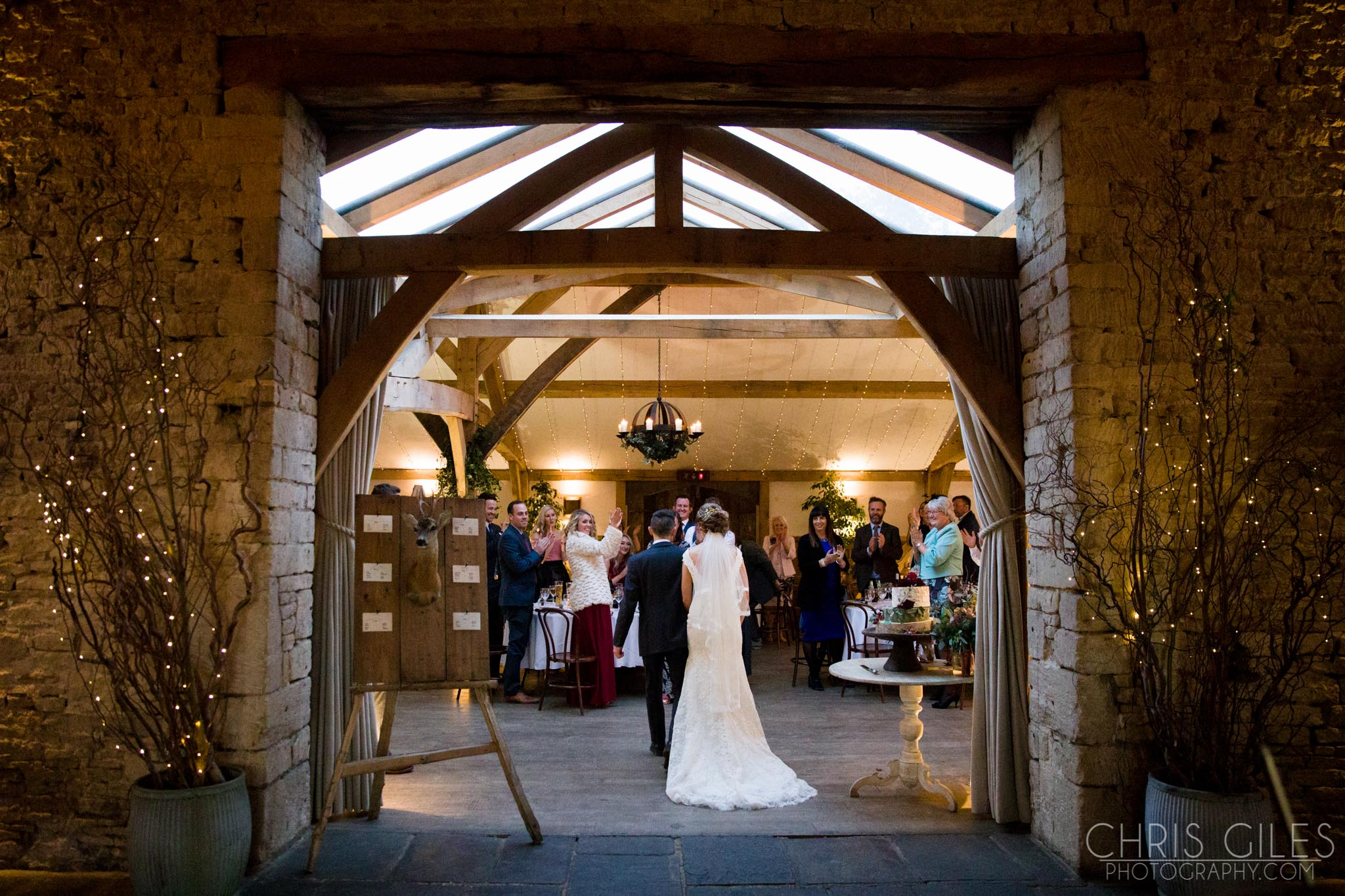 Cripps Barn Autumn Wedding