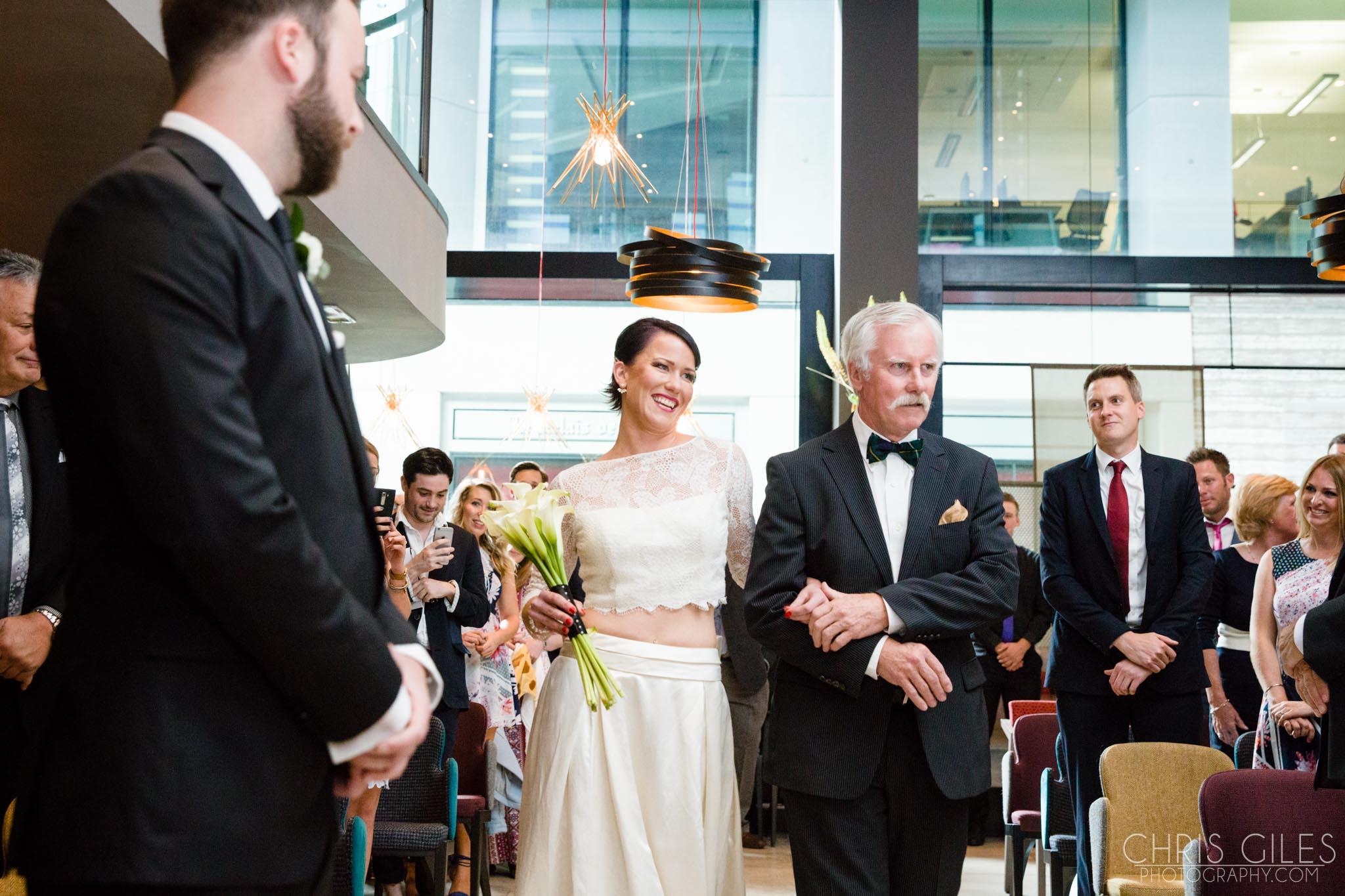 London Restaurant Wedding in Threadneedle Street