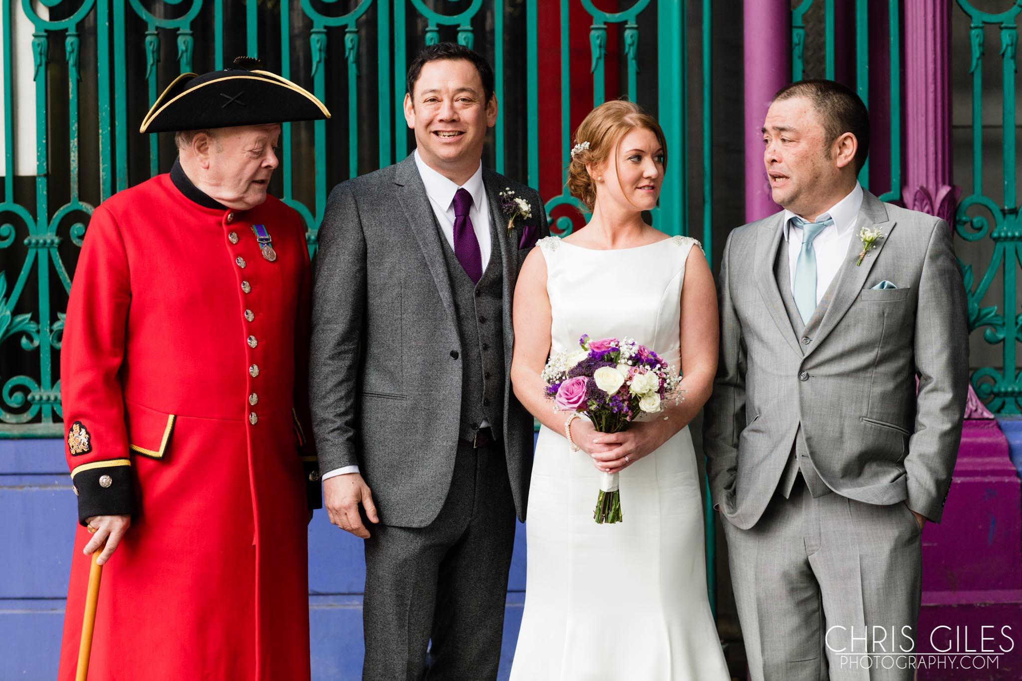 London Wedding at Mai Maison