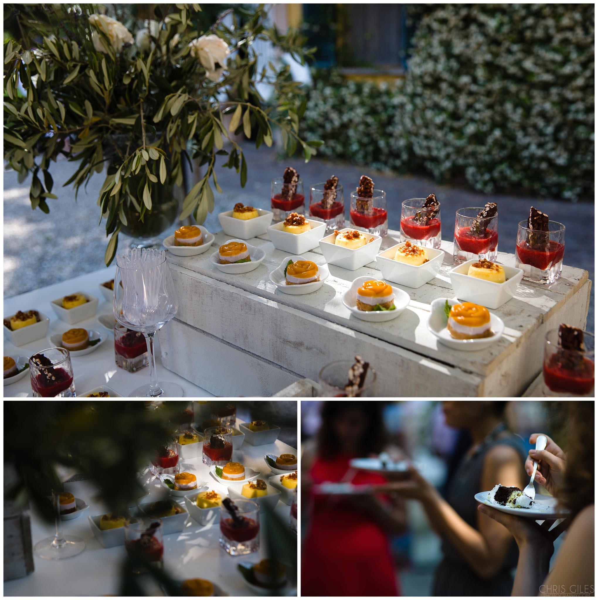 Italian wedding deserts