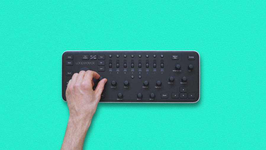 Loupedeck lightroom controller
