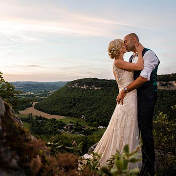 Chateau de Lacoste Dordogne Wedding
