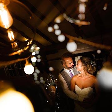 Upwaltham Barns rainy wedding
