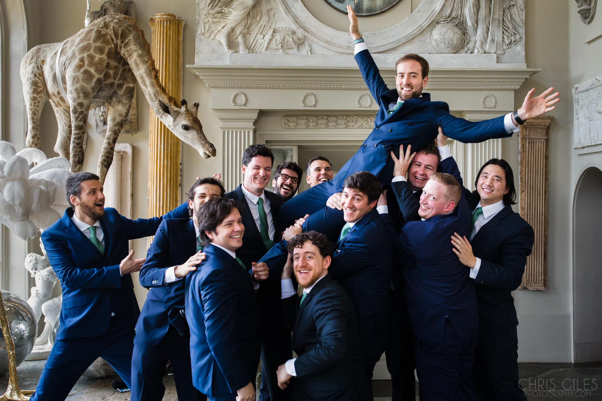 Places for family formals at Aynhoe Park