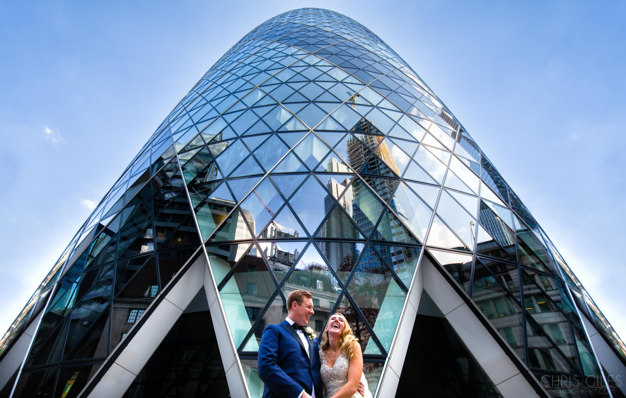 Weddings at the Gherkin, London