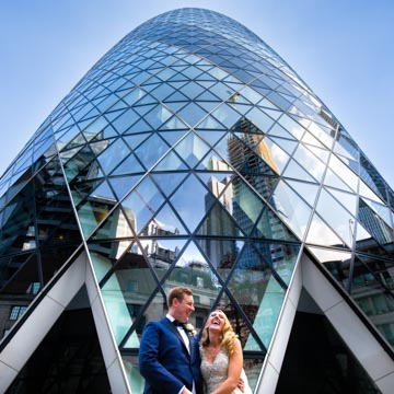 Wedding at the Gherkin London