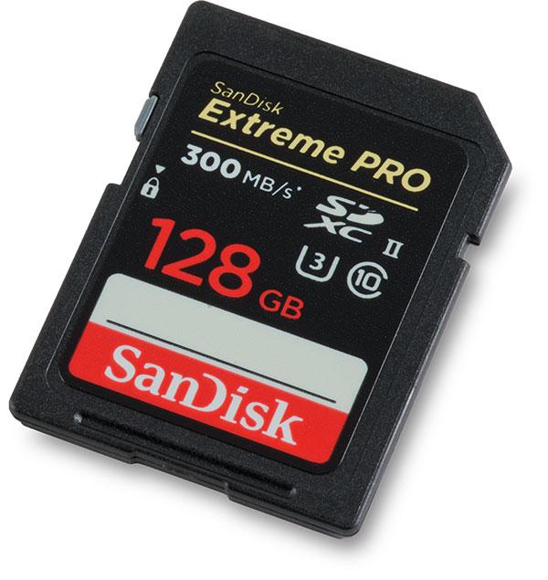 EOS R Memory card