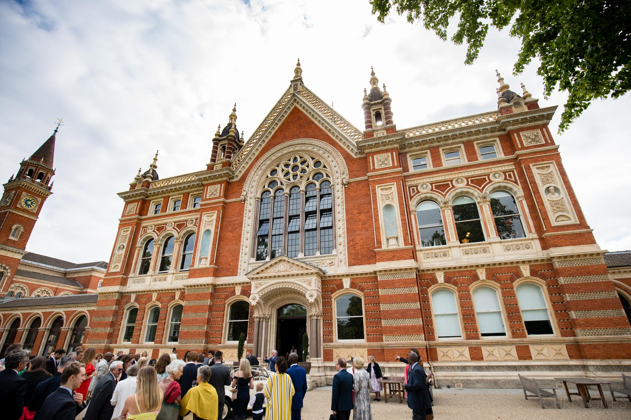 Dulwich College Wedding Reception